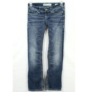 BKE Denim Stella Low Rise Bootcut Jeans Size 26R